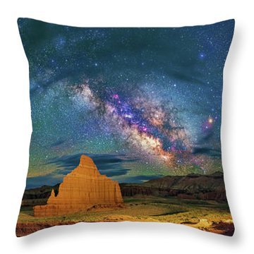 Cathedrals Throw Pillow