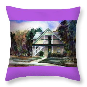 Catherine's House Throw Pillow