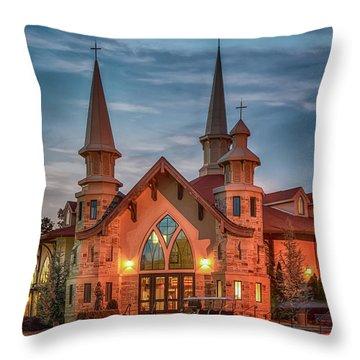 Catholic Church Of St. Ann Throw Pillow