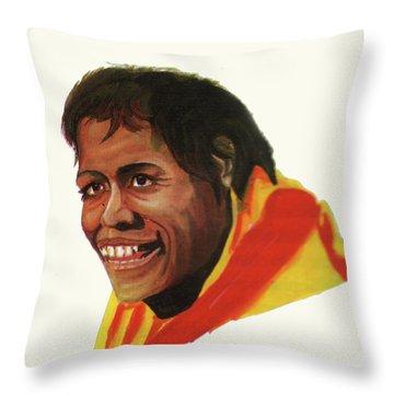 Cathy Freeman Throw Pillow