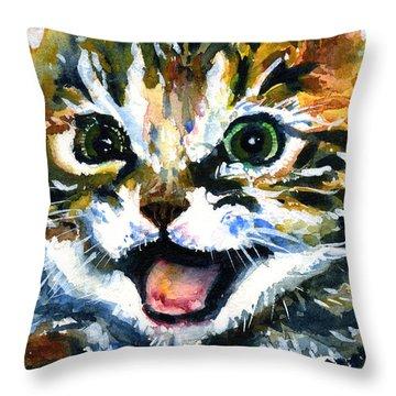 Cats Eyes 15 Throw Pillow