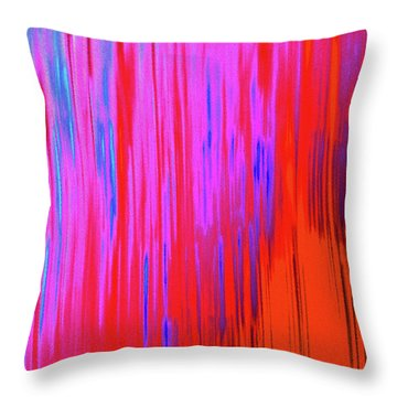 Throw Pillow featuring the photograph Cattails by Tony Beck