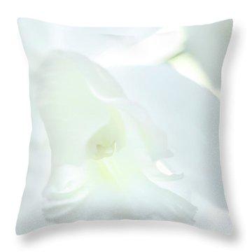 Cattleya Orchid #1 Throw Pillow