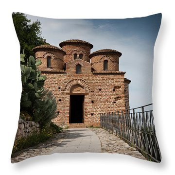 Cattolica Di Stilo, Throw Pillow