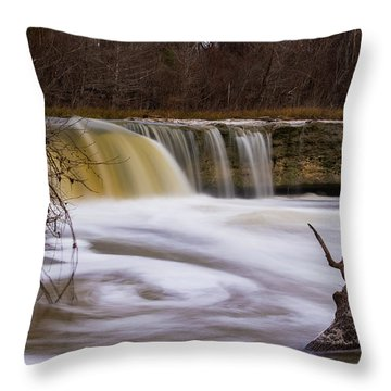 Caught In A Spin Throw Pillow