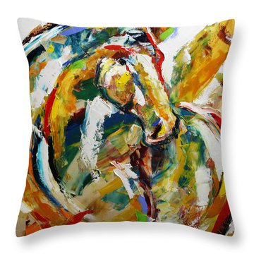 Caught In Morning Light Throw Pillow