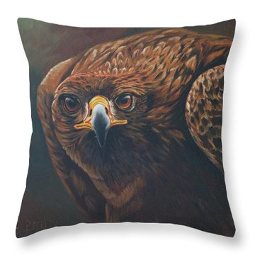 Caught In Sight Throw Pillow