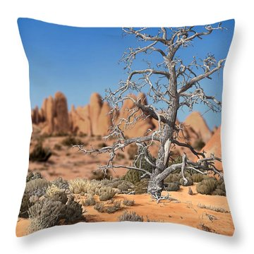 Caught In Your Dying Arms Throw Pillow