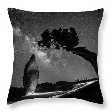 Causality IIi Throw Pillow