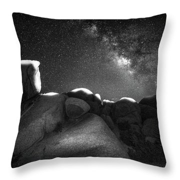 Causality Iv Throw Pillow