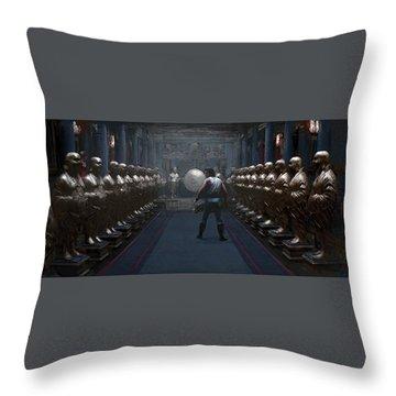 Cause... Throw Pillow by Kurt Ramschissel
