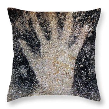 Cave Art: Pech Merle Throw Pillow by Granger
