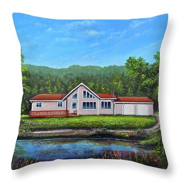 Cavendish House Throw Pillow
