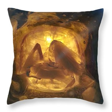 Cavern Light Throw Pillow