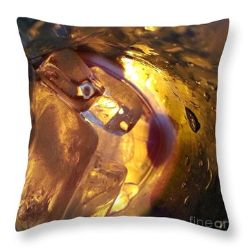 Cavern Of Wonders Throw Pillow
