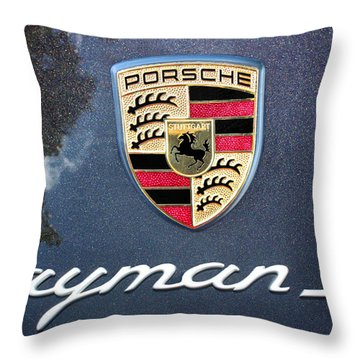 Cayman S Throw Pillow by Kristin Elmquist