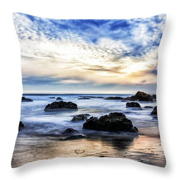 Cayucos Quietude Throw Pillow