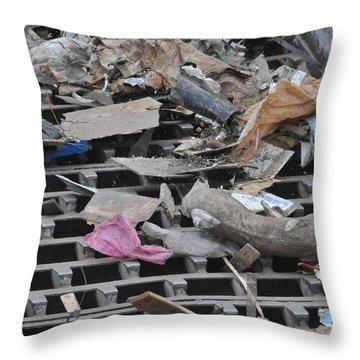 Cd Material Throw Pillow