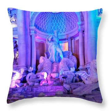Ceasars Palace Forum Shops Throw Pillow