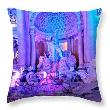 Ceasars Palace Forum Shops Throw Pillow