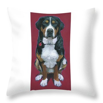 Cece Throw Pillow by Nadi Spencer
