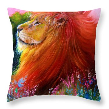 Cecil  Throw Pillow by Patrice Torrillo