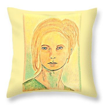 Cecilia Throw Pillow