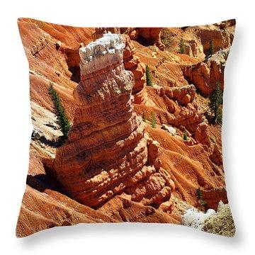 Cedar Breaks 4 Throw Pillow by Marty Koch