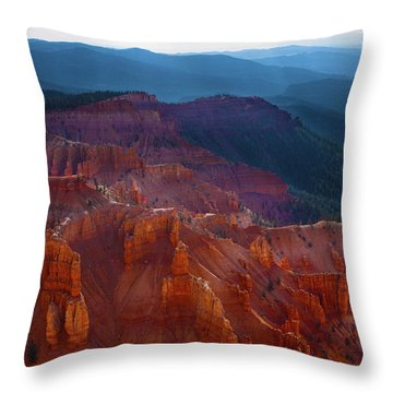 Cedar Breaks Brilliance Throw Pillow
