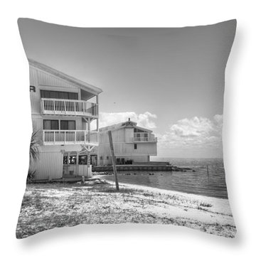 Throw Pillow featuring the photograph Cedar Cove by Howard Salmon