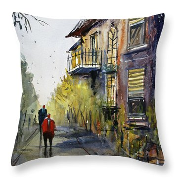 Cedarburg Shadows Throw Pillow