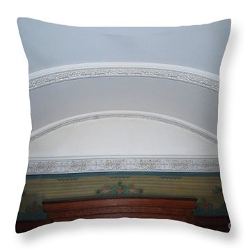 Throw Pillow featuring the photograph Ceiling by Bill Thomson