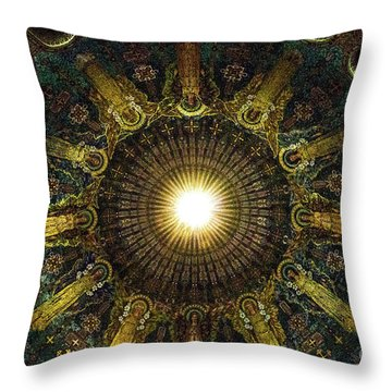 Ligth  Burst Throw Pillow