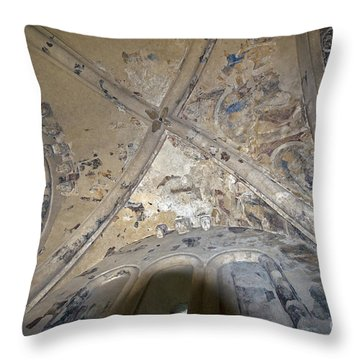 Ceiling Of Cormac's Chapel Throw Pillow