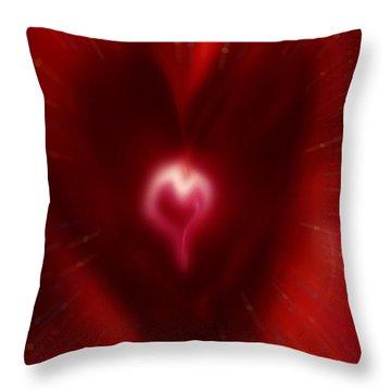 Celebrate Love Throw Pillow by Linda Sannuti