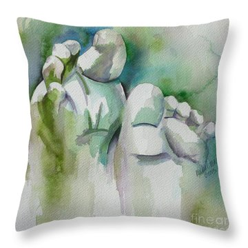 Celebrate The Gift Throw Pillow