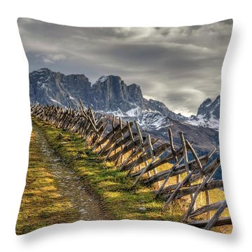 Throw Pillow featuring the photograph Celebrate The Sunrise by Peter Thoeny