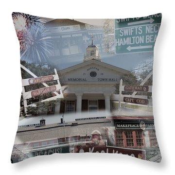 Celebrate Wareham Throw Pillow