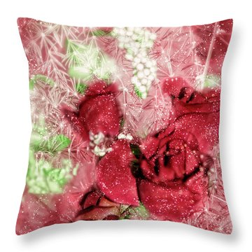 Celebrate Winter Throw Pillow