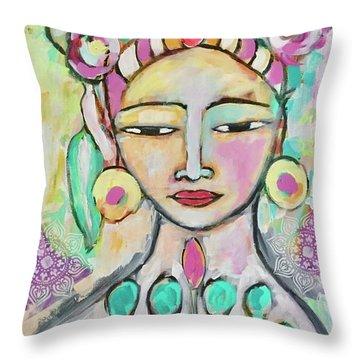 Celebrating Frida  Throw Pillow