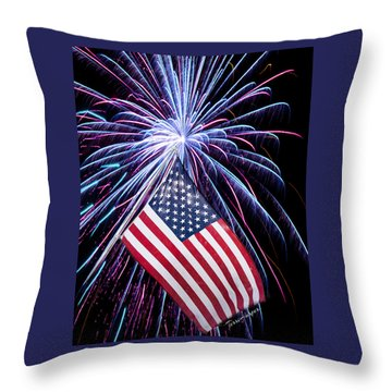 Celebration Of Freedom Throw Pillow