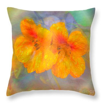 Celebration Of Life. Throw Pillow