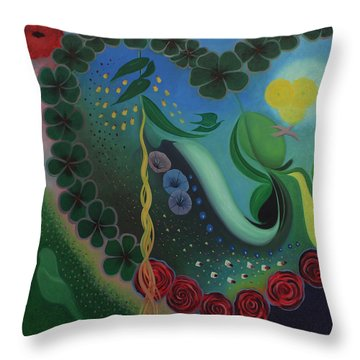 Celebration Of Love  Throw Pillow