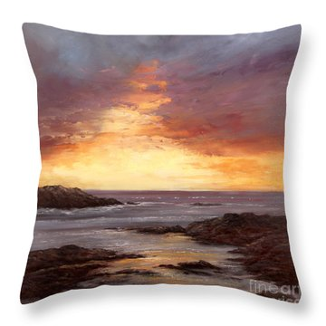 Celebration Throw Pillow by Valerie Travers