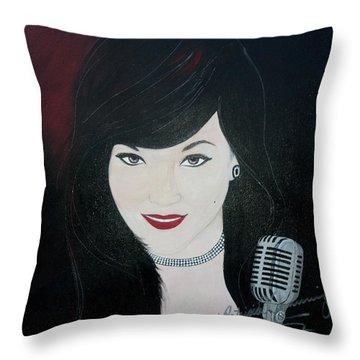Celeste Barbier Throw Pillow