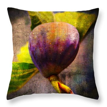Celeste Fig Throw Pillow