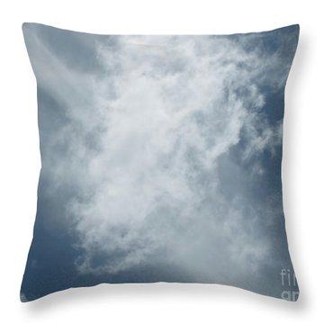 Celestial 1 Throw Pillow by Karen Sydney
