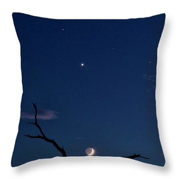 Celestial Alignment Throw Pillow