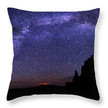 Celestial Arch Throw Pillow