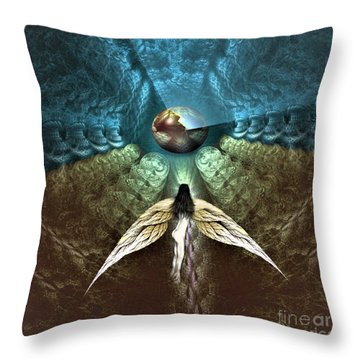 Celestial Cavern Throw Pillow